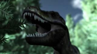 Brachiosaurus&Tyrannosaurus&Suchomimus 制作:Tsuneo MP.