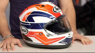 arai corsair x curve helmet review at revzilla com