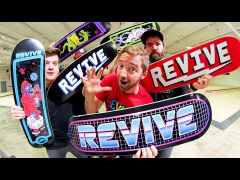 NEWEST REVIVE SKATEBOARDS PRODUCTS! - Spring 2018 (Cruisers Are Back!)