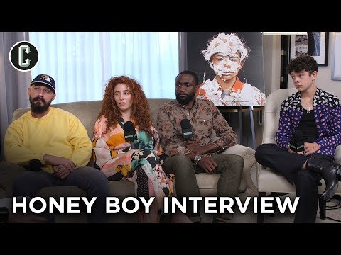 shia-labeouf-and-the-'honey-boy'-cast/director-laugh-way-too-much-during-this-interview