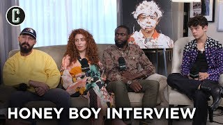 Shia LaBeouf and the 'Honey Boy' Cast/Director Laugh Way Too Much During This Interview