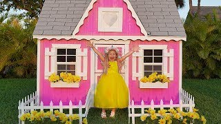 Diana and New Playhouse Beautiful toys for girls