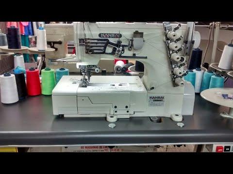 Maquina KANSAI ESPECIAL NUEVA. ensartado paso a paso y detalles de uso