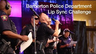 Barberton Police Department Lip Sync Challenge 2018