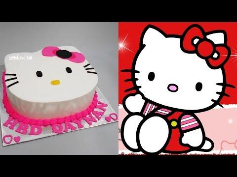 Hello Kitty Cake Tutorial Unique