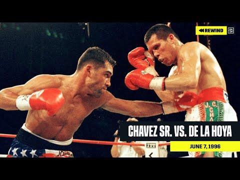 FULL FIGHT   Julio Cesar Chavez Sr. Vs. Oscar De La Hoya (DAZN REWIND)