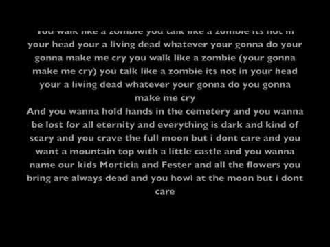 HorrorPops Walk Like A Zombie Lyrics