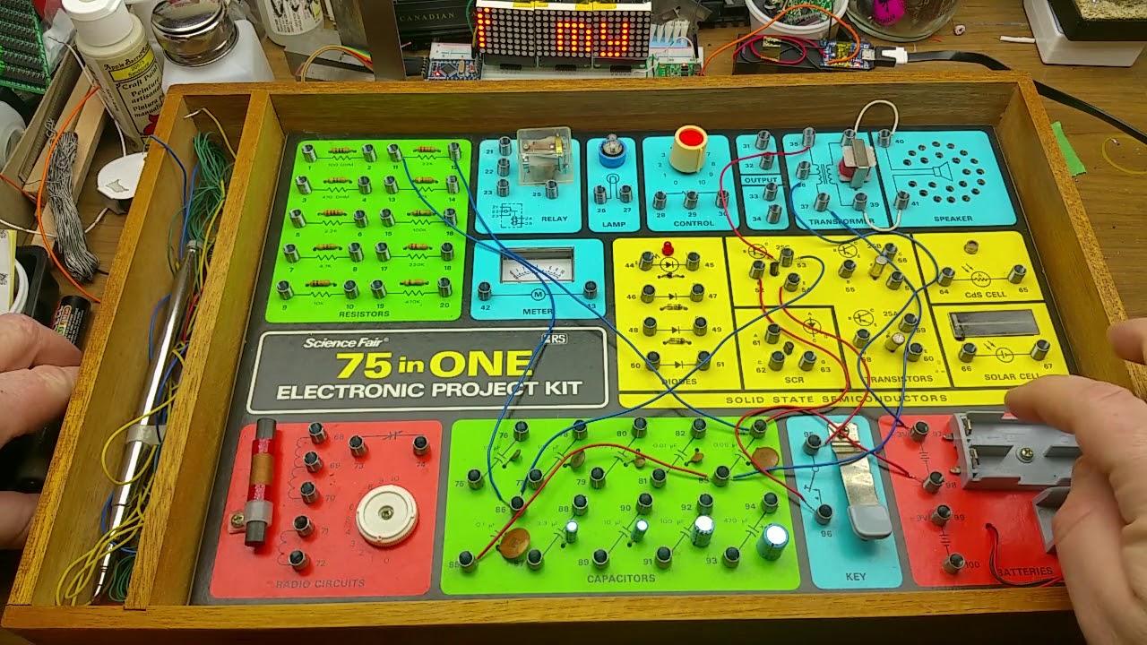 My first electronics kit - A nostalgia trip - YouTube