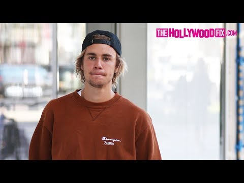Justin Bieber Is Asked About His Coachella Fight While Getting A Morning Coffee In Beverly Hills