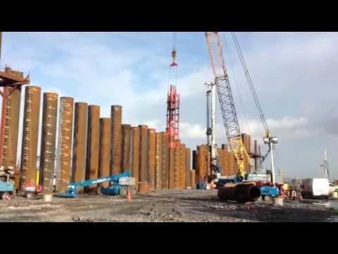 DELMAG Diesel Pile Hammer D100 13 in Rope suspended Lead EU100 60