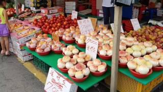 2017년 여름, 서울 경동시장(청과물 시장)