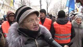 Неожиданные ответы на вопросы об акции протеста под НБУ   опрос Руслана Коцабы