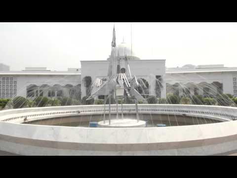 BANGABHABAN || (বঙ্গভবন) Office of the President of Bangladesh.