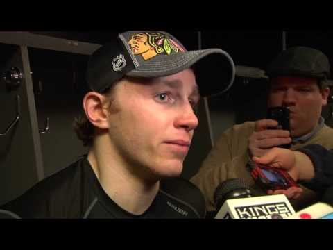 Patrick Kane's Emotional Post-Game Interview