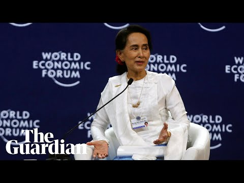 Aung San Suu Kyi on the Rohingya crisis and jailed Reuters journalists