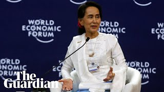 Myanmar government leader aung san suu kyi says she believes her country could have handled the rohingya crisis 'better' but insists international commun...