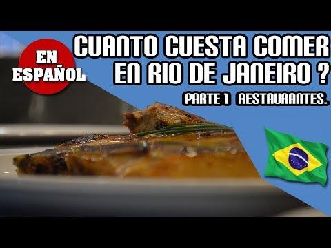 CUANTO CUESTA COMER EN RIO DE JANEIRO, BRASIL ? (precios de varios restaurantes) * EN ESPAÑOL