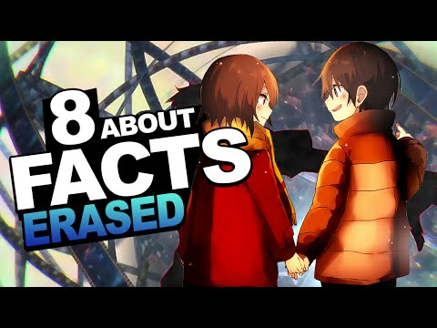 8 Facts About Erased/Boku Dake ga Inai Machi You Should Know!!!