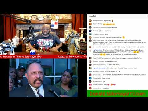 1on1 With Judge Joe Brown On The State Of Blacks America Today & More! Pt 1