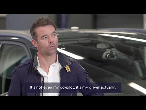 Interview Sébastien Loeb - Voiture autonome / Autonomous vehicle