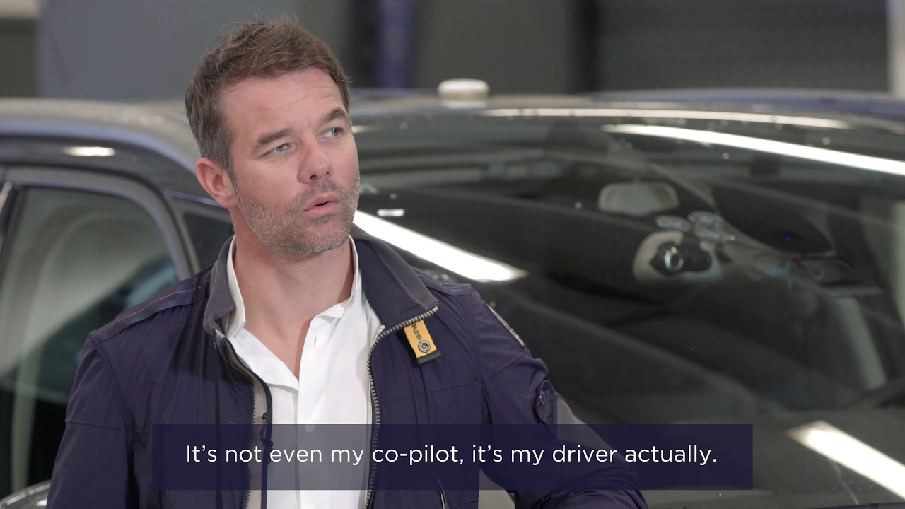 Interview s bastien loeb voiture autonome autonomous vehicle youtube - Voiture sebastien loeb ...