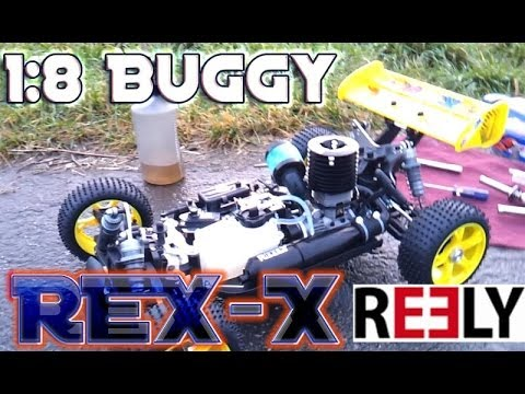 buggy rex x unboxing 1 8 nitro verbrenner youtube. Black Bedroom Furniture Sets. Home Design Ideas