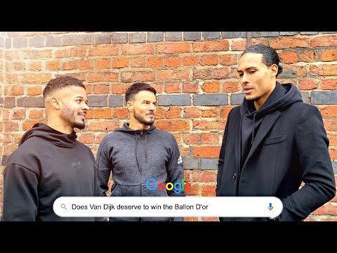VIRGIL VAN DIJK ANSWERS THE WEB'S MOST SEARCHED QUESTIONS!