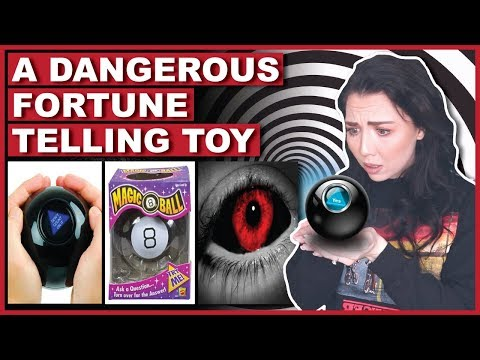 A Creepy Warning About The Magic 8 Ball