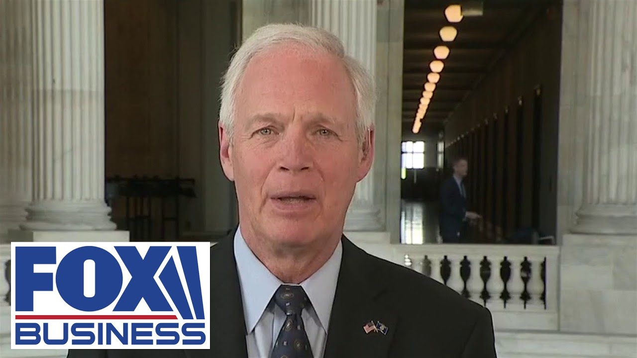 Sen. Johnson: No bipartisan infrastructure agreement until border under control