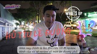 HỦ TÍU GÕ SÀI GÒN_ Lần đầu trai Hàn ngồi ăn lề đường_  Review_  Leelee