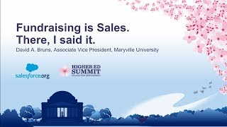 Fundraising is Sales. There, I said it