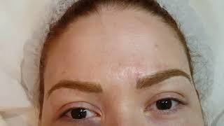 Red Head Eyebrows Realism Microblading 3D by El Truchan @ Perfect Definition London 3010