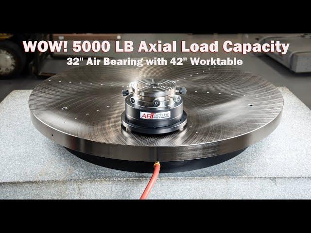 HDRT 800/1070 precision heavy duty rotary air bearing table