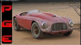 10 Increíbles autos encontrados en graneros