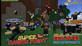 ROBLOX | Lets Spielen | SUPER CHECK POINT! | Crazycatsrule1