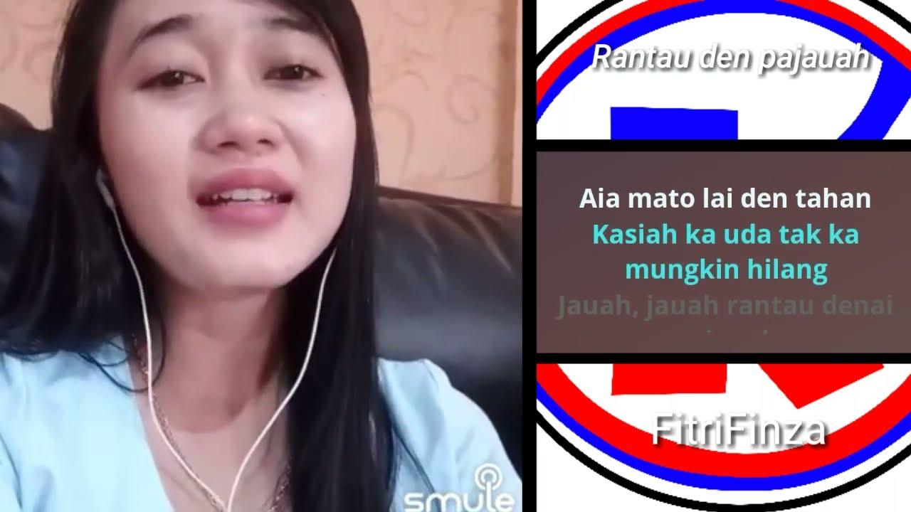 Rantau den Pajauah - duet karaoke smule bareng artis indonesia