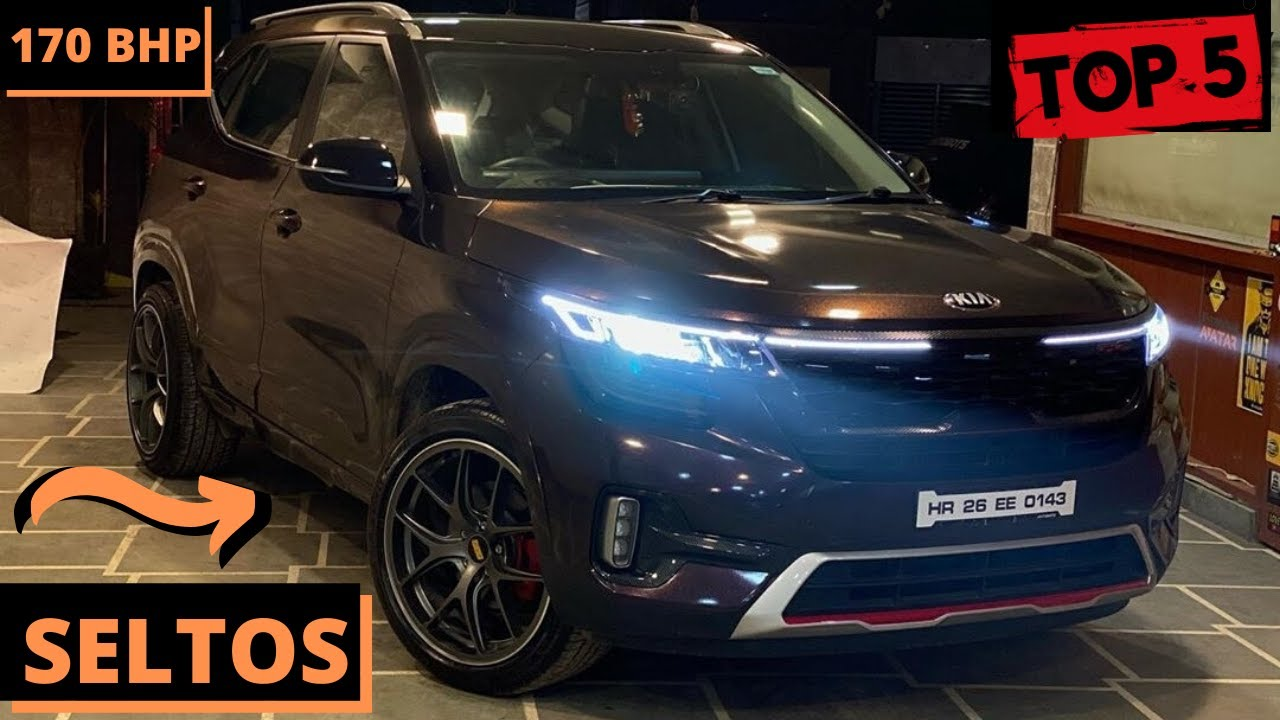 Top 5 Modified/Customised Kia Seltos | All Details | Automobile Madness