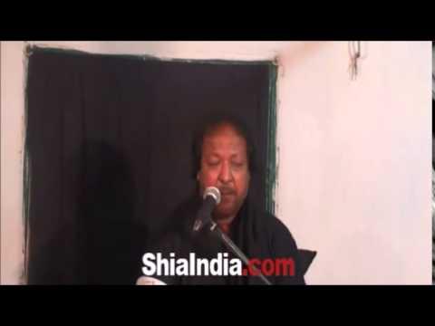 Maajaee Hai Zainab Dukh Payee hai Zainab Recited By Ali Hussain Rizvi (Alijaan)