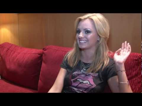 "ALEXANDRA STAN Interview in Vienna, Austria ""Mr. Saxobeat"""