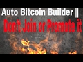 Free Bitcoins Without Mining - BTC Builder NT 0.08 (2018)