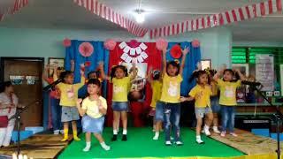 Gerak dan lagu Dari Terbit Matahari - TK A2 Strada Bhakti Nusa
