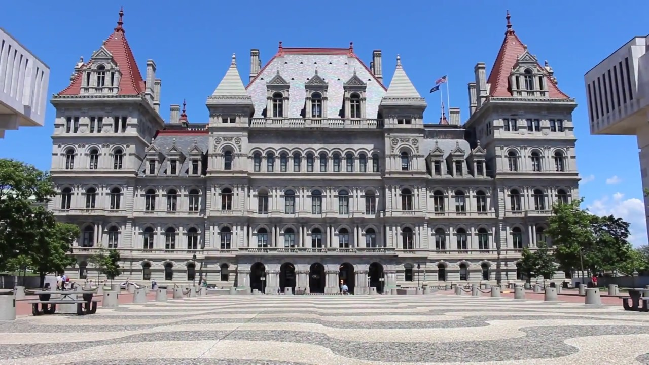 Image result for new york state capitol building youtube