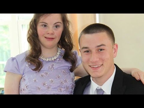 Highschool Quarterback Takes Girl With Down Syndrome To Prom from YouTube · Duration:  2 minutes 5 seconds