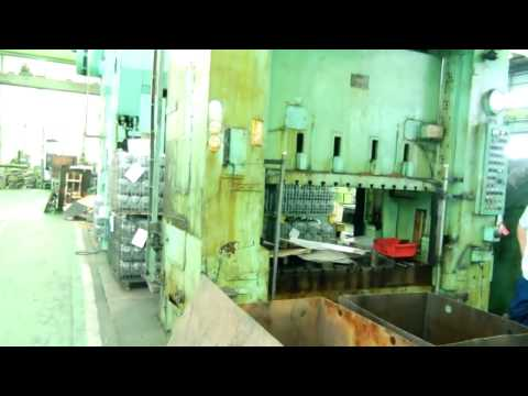 AIDA 300ton at Wijaya Machinery. Jakarta. phone : +62-21-6696061