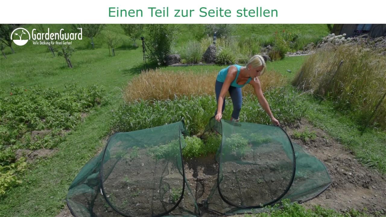 1 2 verlaengerung gardenguard pflanzenschutztunnel youtube. Black Bedroom Furniture Sets. Home Design Ideas