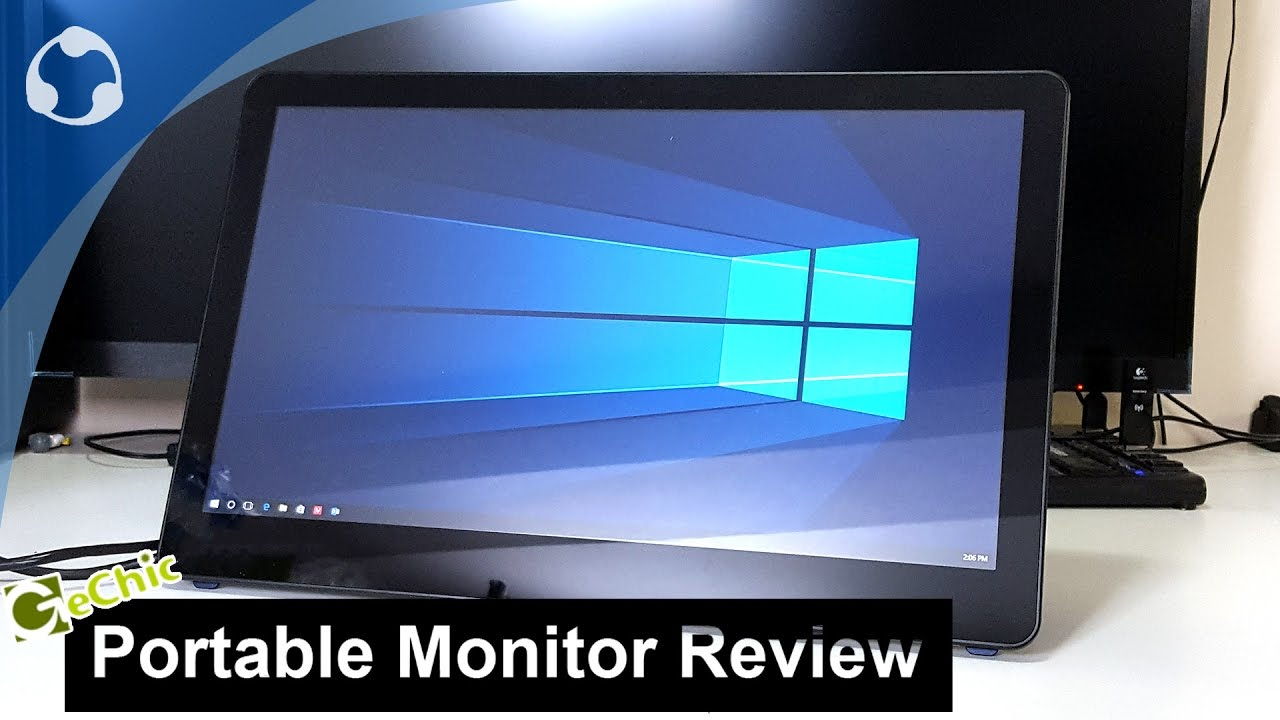 Gechic Usb Portable Monitor Review Youtube