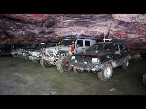 Daniel Boone Byway and Stump Cave with Ohio River Four Wheelers (June club ride)