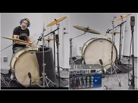 My drum recording philosophy and techniques