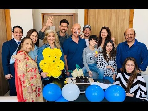 HAVE A LOOK! Hrithik Roshan Celebrates Birthday With Daddy Rakesh Post His Surgery Mp3