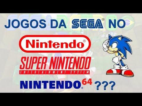 VOCÊ SABIA? Jogos da SEGA no NES, SNES e N64!